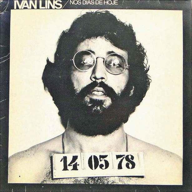 Foto usada na capa do LP 'Nos dias de hoje', que marcou a carreira de Ivan Lins nos anos 1970. Foto: Divulgação