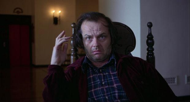 Jack Nicholson em cena de O Iluminado. Foto: Divulgação