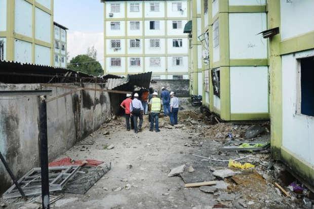 A estimativa é que morem 17 mil pessoas no conjunto. Foto: Tânia Rego/ Agência Brasil.