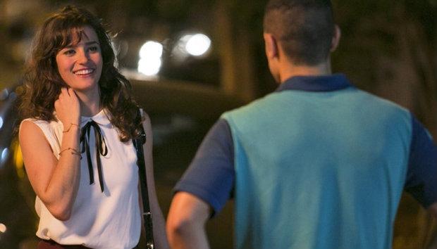 Priscila Steinman e Sergio Malheiros contracenam como Sofia e Jacaré. Foto: TV Globo/Divulgação (Foto: TV Globo/Divulgação)