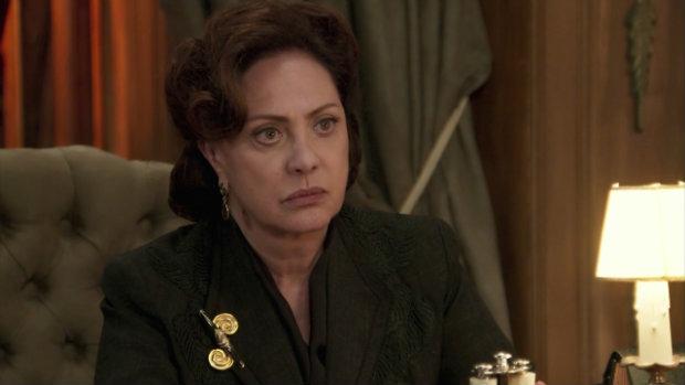 Eliane Giardini interpreta Anastácia na trama. Foto: TV Globo/Divulgação (TV Globo/Divulgação)