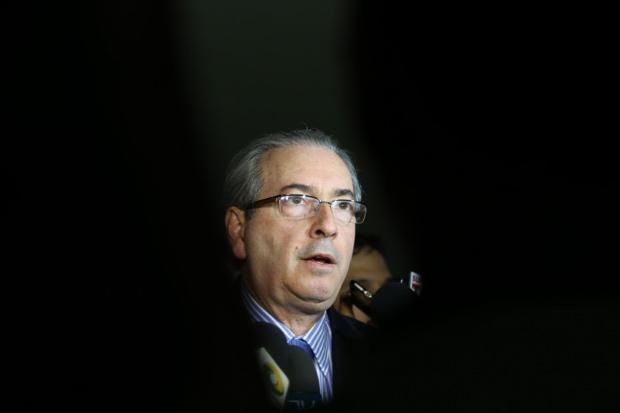 Eduardo Cunha nega ser dono das contas na Suíça e afirma ser apenas o %u201Cusufrutuário%u201D dos ativos. Foto: Lula Marques/AgênciaPT.