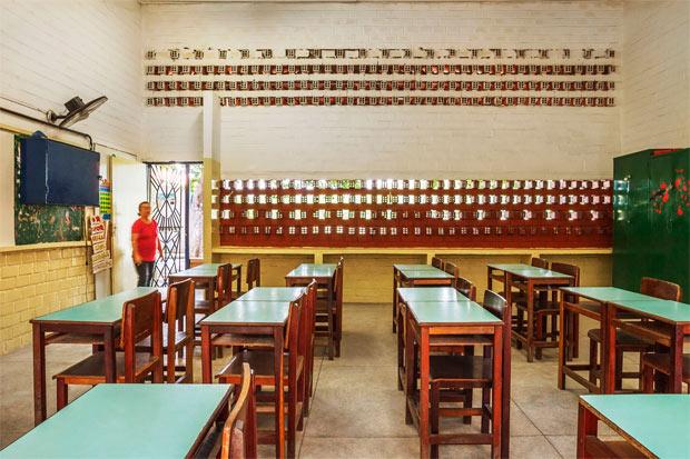 Foram os próprios moradores do Coque que escolheram uma escola primária quando uma ONG captou recursos para construção de um equipamento na comunidade. Foto: O Norte Oficina de Criação