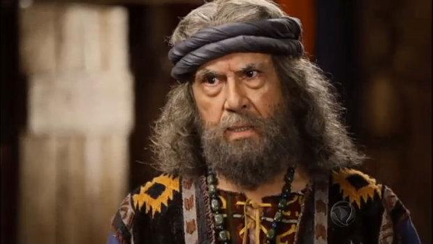 Jetro é interpretado por Paulo Figueiredo. Foto: Record/Divulgação