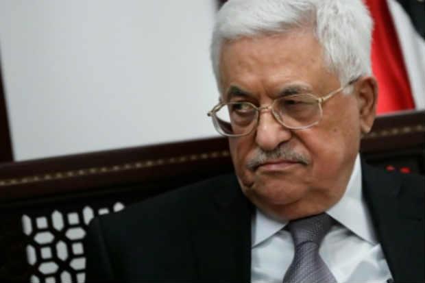 Mahmud Abbas durante entrevista à AFP em Ramallah. Foto: Thomas Coex/AFP