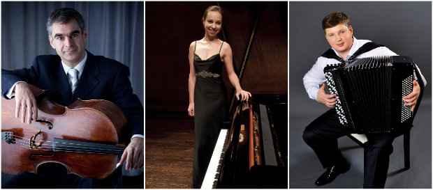 No ano passado, nomes como Todorov, Kiseleva e Hrustevich foram alguns dos convidados especiais dos concertos. Fotos: Virtuosi/Divulgação