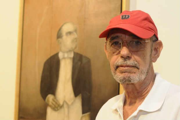 De Garanhuns, o artista se mudou para o Recife em 1963. Juliana Leitao/DP/D.A Press