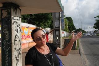 Ivanilda Percila prevê se poupar de caminhada de 20 minutos. Foto: Peu Ricardo/Esp.DP