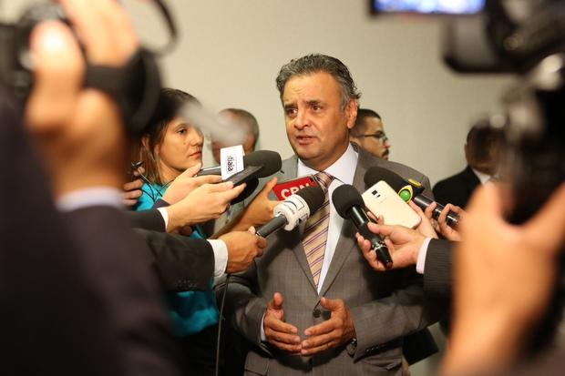 Senador acompanhou a votação em casa, pela TV, com a família. Foto: George Gianni/PSDB