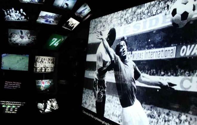 """Museu do Futebol está com a programação """"Experimentando Diferenças"""". Foto: Mariana Ceratti/CB/D.A. Press"""