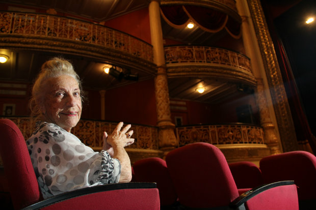 A estreia como atriz foi em 1941, no Teatro de Amadores de Pernambuco. Foto: Arthur de Souza/Esp. DP