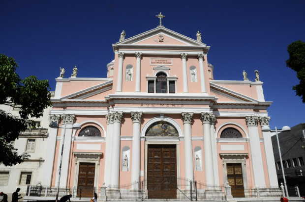 Basílica da Penha. Foto: Carlos Augusto/PCR/Divulgação