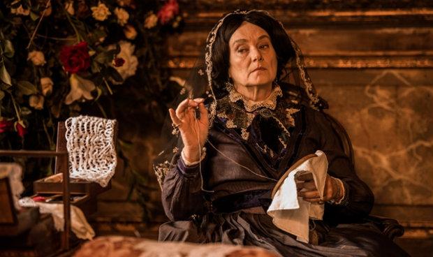 Selma Egrei interpreta Encarnação nas duas fases da trama. Foto: TV Globo/Divulgação (TV Globo/Divulgação)