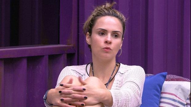 Ana Paula conquistou maior popularidade no reality show. Foto: TV Globo/Divulgação
