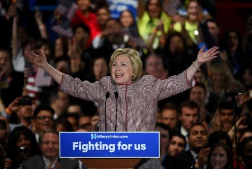 A pré-candidata democrata Hillary Clinton, em Nova York. Foto:AFP/TIMOTHY A. CLARY