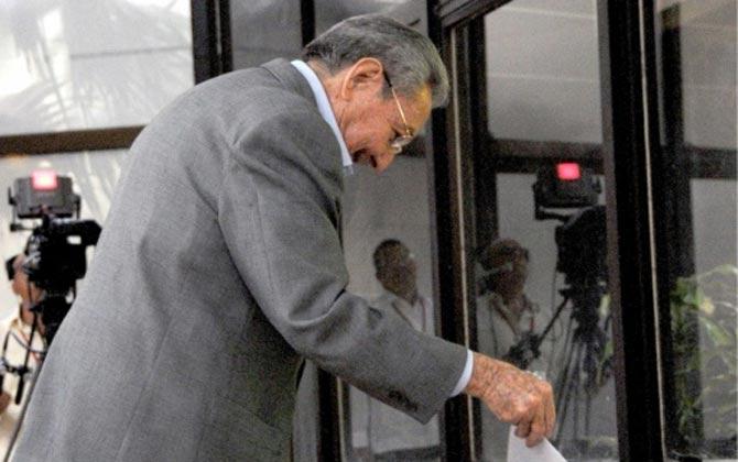 Presidente Raúl Castro em 18 de abril. Foto: Omara Garcia Mederos/www.cubadebate.cu/AFP