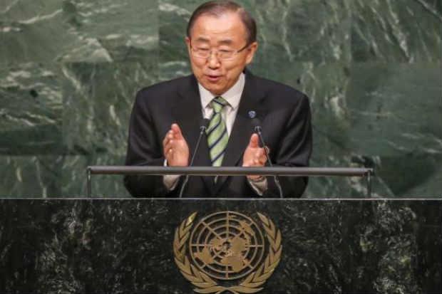 Para o secretário-geral da ONU, o acordo pode ajudar a erradicar a pobreza, criar empregos verdes e derrotar a fome. Foto: Andrew Gombert/Agência Lusa/EPA