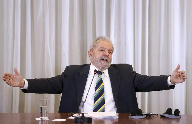 Os inquéritos sobre ex-presidente estão suspensos depois que ele foi nomeado ministro da Casa Civil, no dia 17, e o tema foi levado ao Supremo. Crédito: Ricardo Stuckert/ Instituto Lula