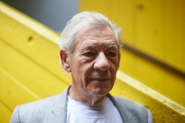 """""""Me preparo para Shakespeare lendo e tentando entender sempre como escrevia e porque escrevia desta maneira"""", explicou, disse McKellen. Foto: AFP NIKLAS HALLE'N"""