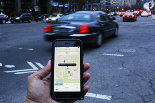 A empresa de corridas particulares Uber já atua nas principais cidades do mundo. Foto: AFP/Arquivos Andrew Caballero-Reynolds