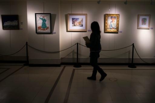 Exposição foi montada no Ministério da Fazenda argentino, em Buenos Aires. Foto: AFP Photo/ Eitan Abramovich (EITAN ABRAMOVICH )