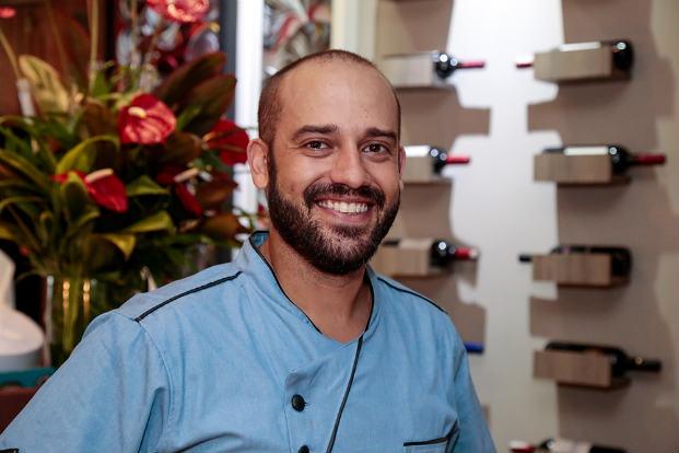 Chef Doryan Bessa é quem assina o menu. Foto: Engenho consult/Divulgação