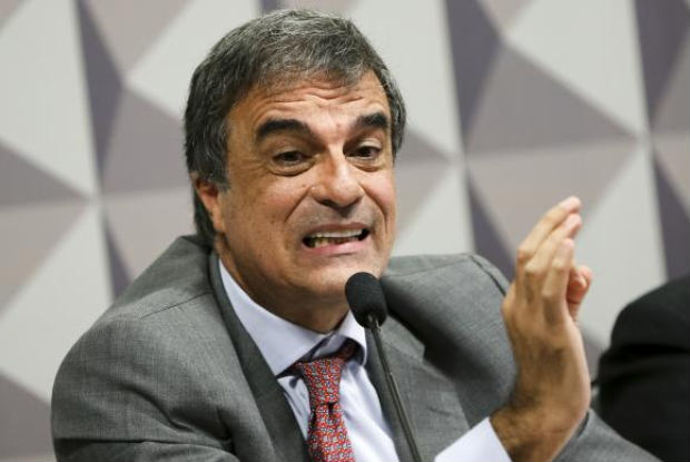 O advogado-Geral da União, José Eduardo Cardozo, durante sessão da Comissão Especial do Impeachment no Senado. Foto: Marcelo Camargo/Agência Brasil.
