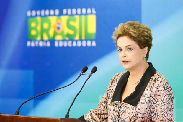 A falta de consenso dos movimentos sociais seria o principal motivo da presidente aida não ter se pronunciado. Foto: Roberto Stuckert Filho/PR.