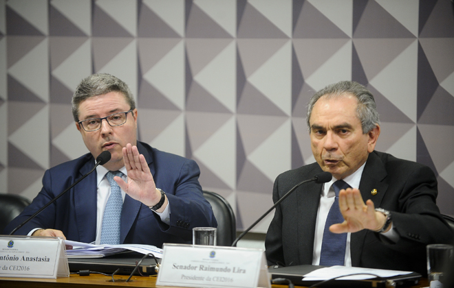 Anastasia argumenta que Cunha fez questão de só acatar fatos posteriores a 2015. Foto: Marcos Oliveira/Agência Senado