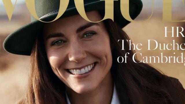 Kate foi clicada pelo fotógrafo Josh Olins, um dos mais badalados do mundo da moda. Foto: Vogue/Divulgação