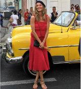 Gisele Budchen no desfile da Chanel, em Cuba. Foto: Instagram/Reprodução