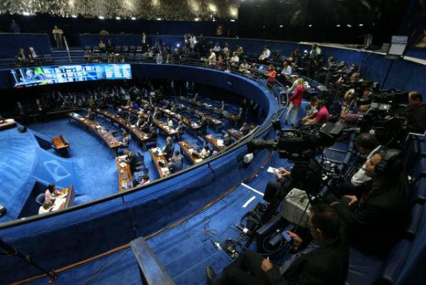 Brasília - Votação do processo de impeachment de Dilma Rousseff no plenário do Senado (Fabio Rodrigues Pozzebom/Agência Brasil)Fabio Rodrigues Pozzebom/Agência Brasil