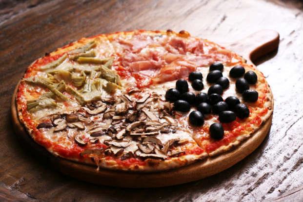 Além das refeições casa também oferece pizzas no cardápio. Foto: Osteria/Reprodução Facebook