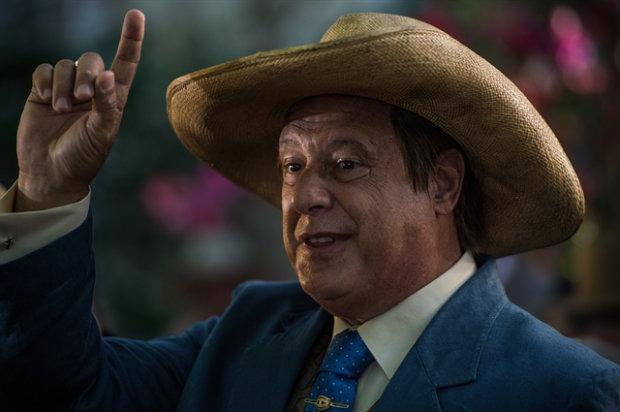 Antônio Fagundes interpreta Afrânio. Foto: TV Globo/Divulgação (Globo/Divulgação)