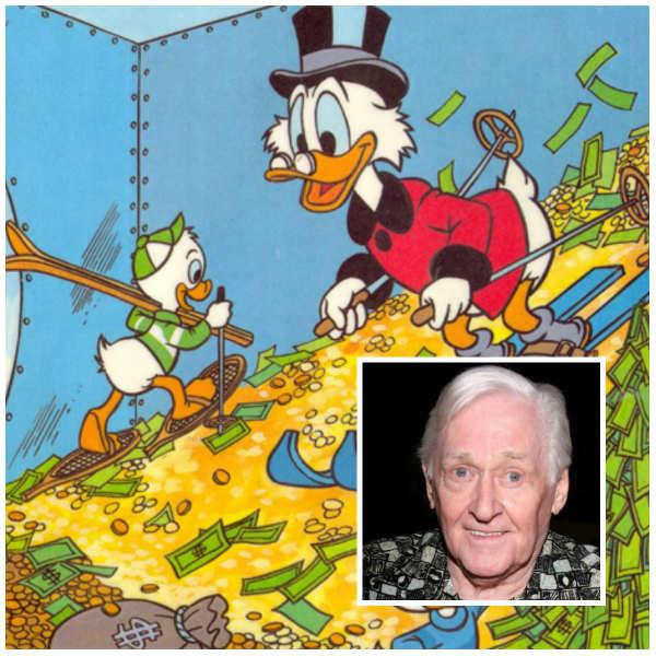 Alan Young dublou o personagem Tio Patinhas em vários filmes e desenhos animados. Foto: wikipedia/Reprodução