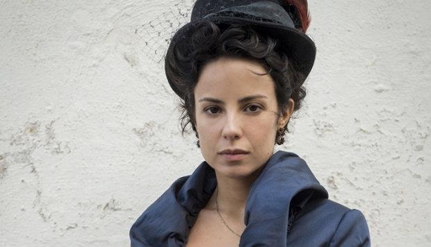 Andreia Horta interpreta Joaquina/Rosa. Foto: TV Globo/Divulgação