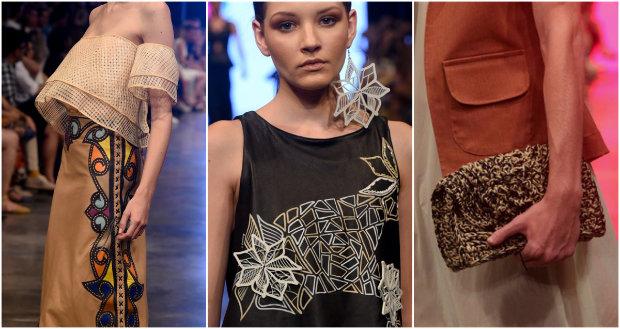 Técnicas artesanais ultrapassam o vestuário e dominam acessórios. Fotos: DFB/Divulgação