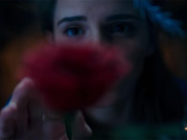 A atriz Emma Watson aparece no primeiro teaser trailer de A Bela e a Fera.  (Foto: divulgação