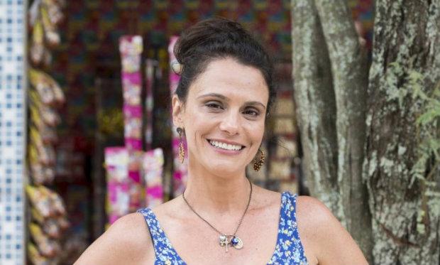 Malu Galli interpreta Rosângela. Foto: TV Globo/Divulgação