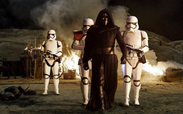 Cena de Star Wars: O despertar da força, franquia criada por George Lucas. Foto: Disney/Divulgação