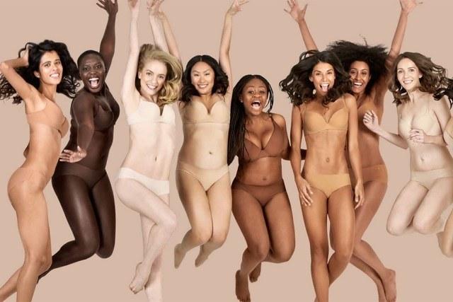 A grife Naja lançou sete tons de nude em nova coleção de lingerie. Foto: Naja/Divulgação