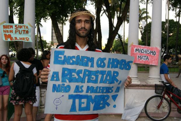 """""""Eles [homens] deveriam refletir a cada momento em que aspecto pode estar sendo opressor%u201D, diz Silvia Dantas. Foto: Tatiana Nascimento/DP (Arquivo)"""