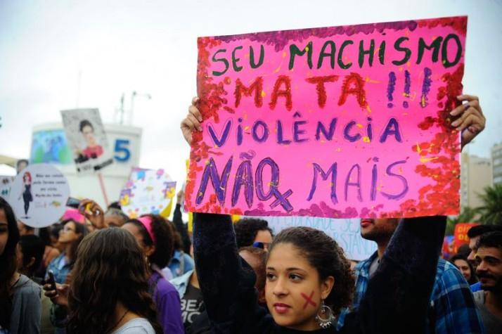 Sexta edição da Marcha das Vadias do Recife  é neste sábado, às 13h, na Praça do Derby. Foto: Fernando Frazão/Agência Brasil (Arquivo)