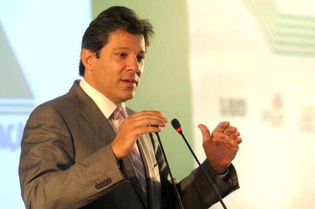Haddad quer reverter desgaste revelado em pesquisas. Foto: Gustavo Moreno/Divulga