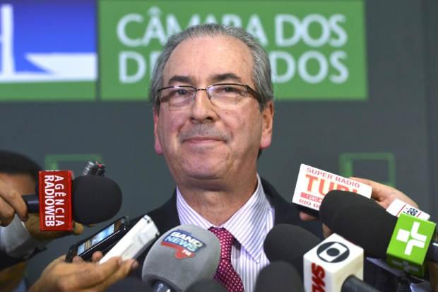 O relator acusa Eduardo Cunha de ter mentido