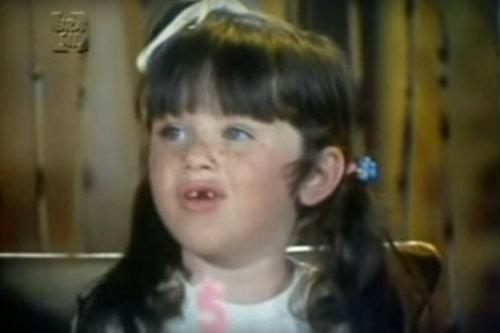 Fernanda Brasil atuou em A Filha dos Trapalhões aos 4 anos. Foto: Reprodução/Facebook