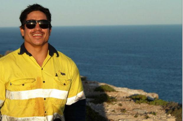 Turista australiano Rye Hunt, que desapareceu no dia 21 de maio no Rio (Foto: Reprodu