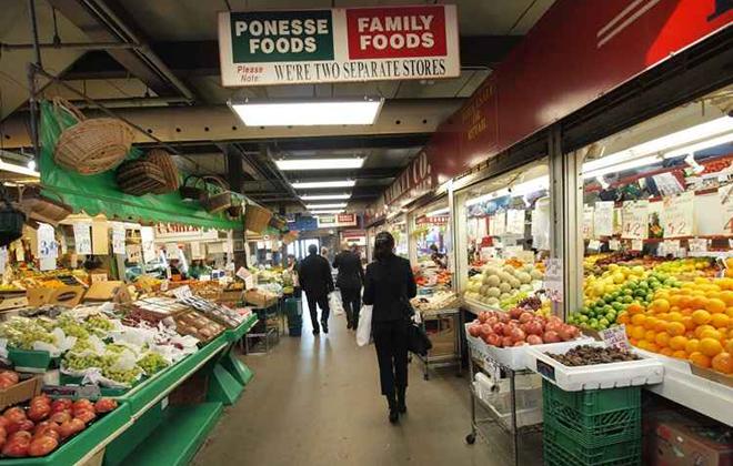 Mercado municipal de Toronto: bom passeio para conhecer hábitos locais. Foto: Tourism Toronto/Divulgação