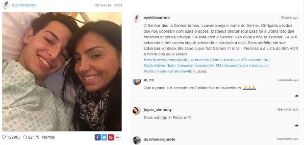 Cantora publicou mensagem nas redes sociais. Foto: Reprodução/Instagram