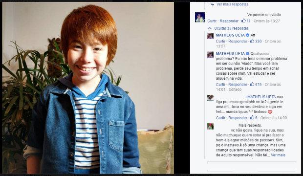Matheus Ueta tem 12 anos e mais de 1 782d93c666c